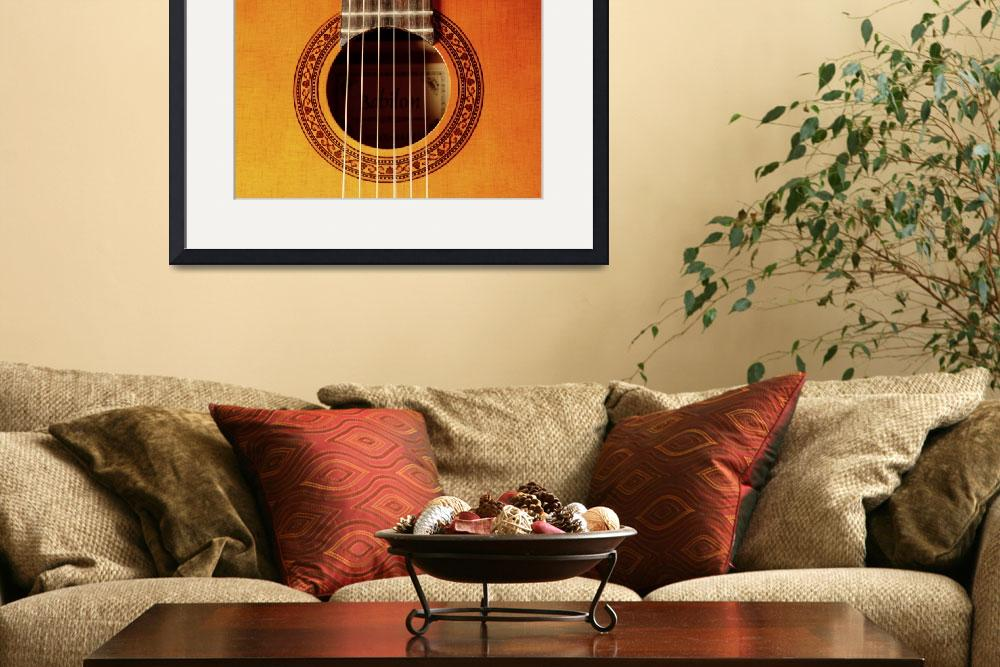 """guitar-56913&quot  by ArgosDesigns"