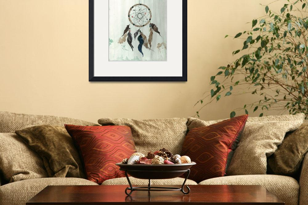 """""""Dream Catcher Reservations&quot  (2012) by pirateforpeaceprints"""