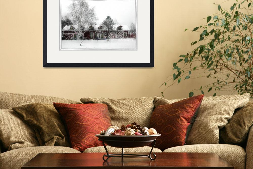"""""""Millbrook Farmhouse&quot  by lavlin"""