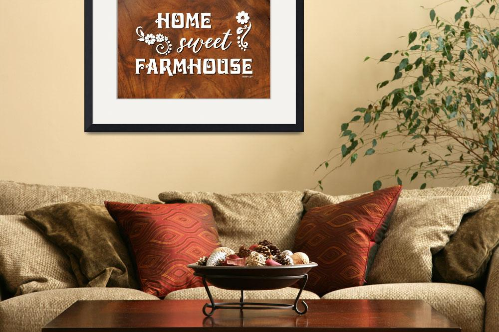 """HOME SWEET FARMHOUSE""  (2019) by Studio8974"