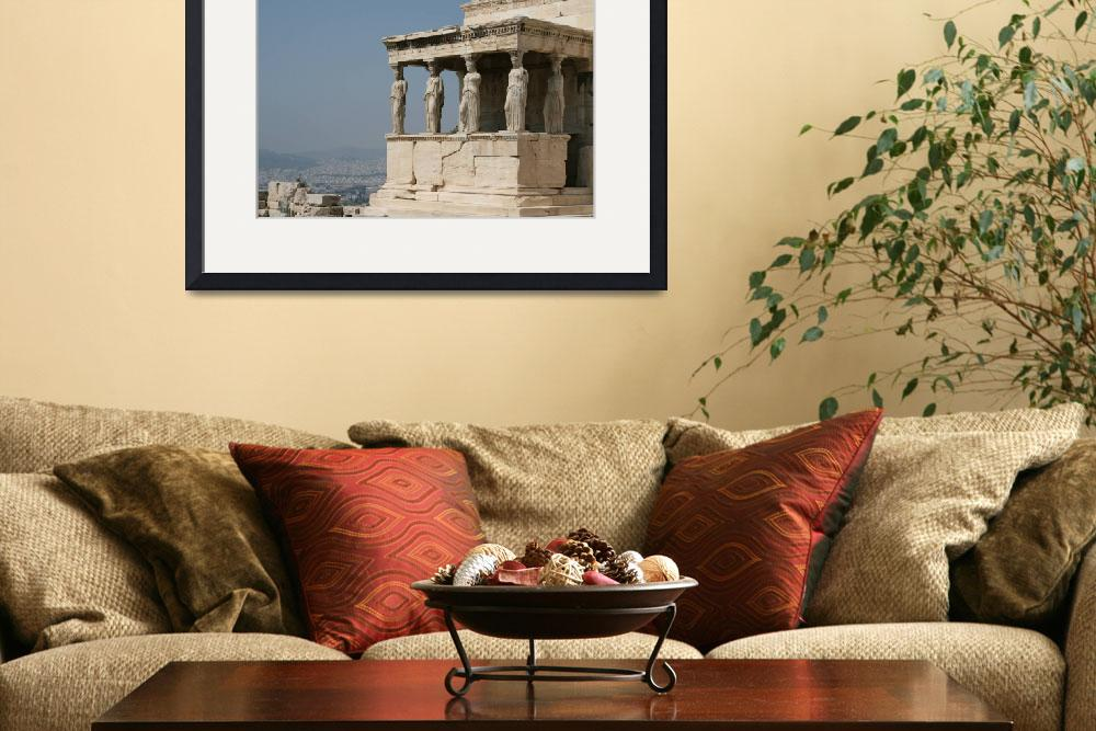 """Maidens of Caryatids at the Erechtheion, Greece""  (2007) by ElizabethWoodson"