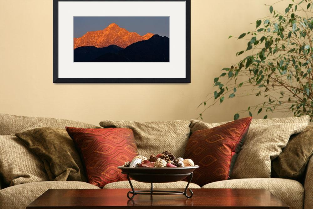 """Himalayan Alpenglow""  (2011) by boppintheblues"