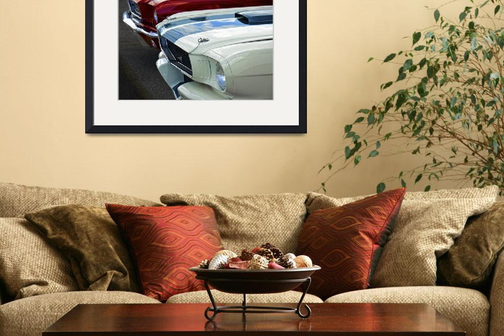 """""""Shelby Mustangs&quot  (2010) by JeffBlackwell"""