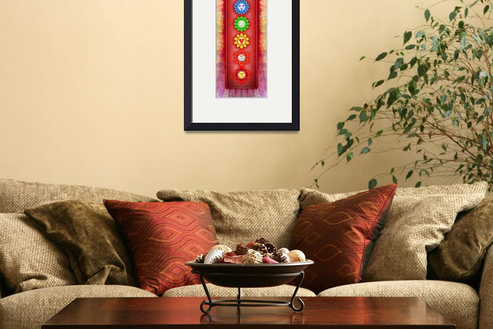 """""""The Seven Chakras - Series 6 Artwork 2-2&quot  by dcz"""