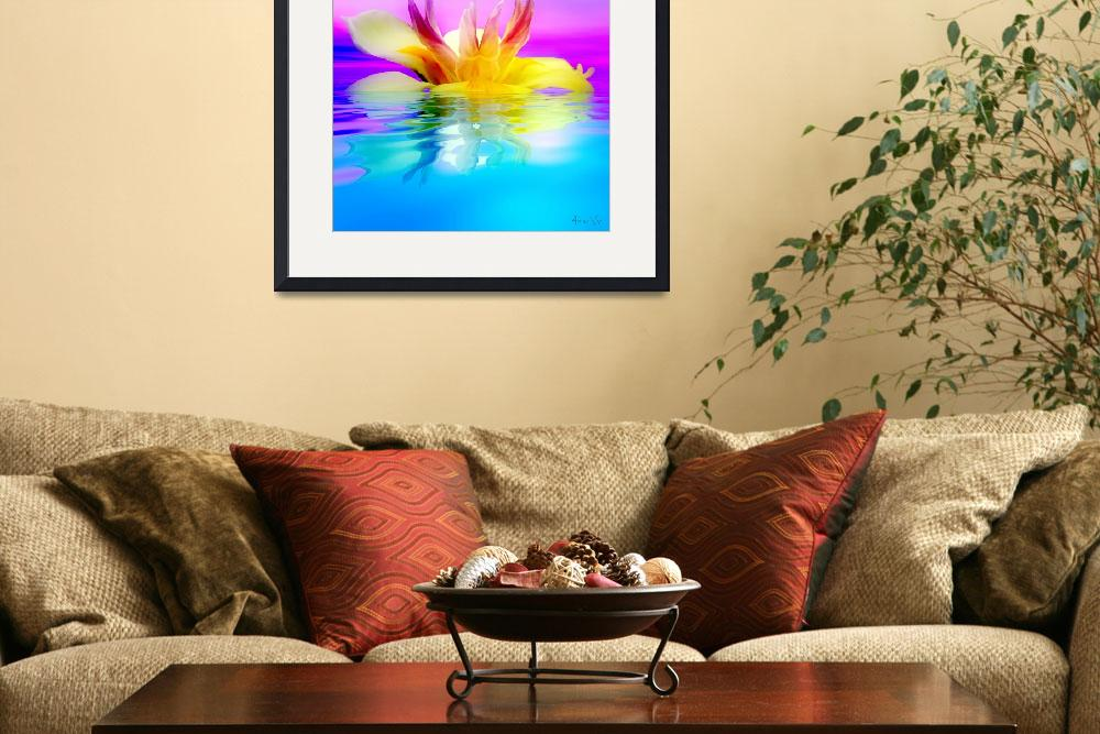 """""""Tropical Flower""""  (2008) by AnneVis"""
