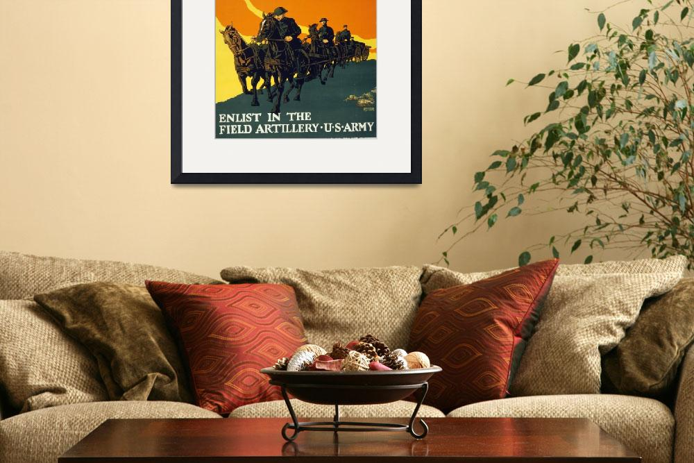 """""""WORLD WAR ONE POSTER&quot  (1917) by homegear"""