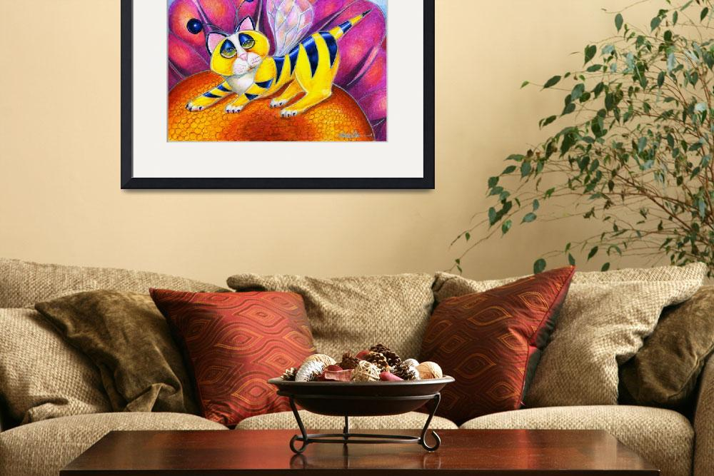 """""""Bee I Kitty&quot  (2011) by AlmaLee"""