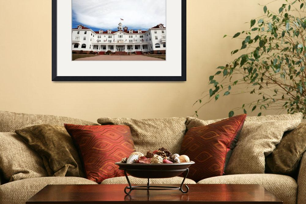 """The Stanley Hotel in Estes Park (color)&quot  (2010) by CocktailHour"