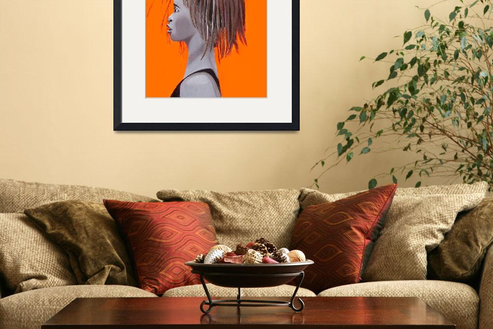 """""""African girl&quot  (2009) by Spangles44"""