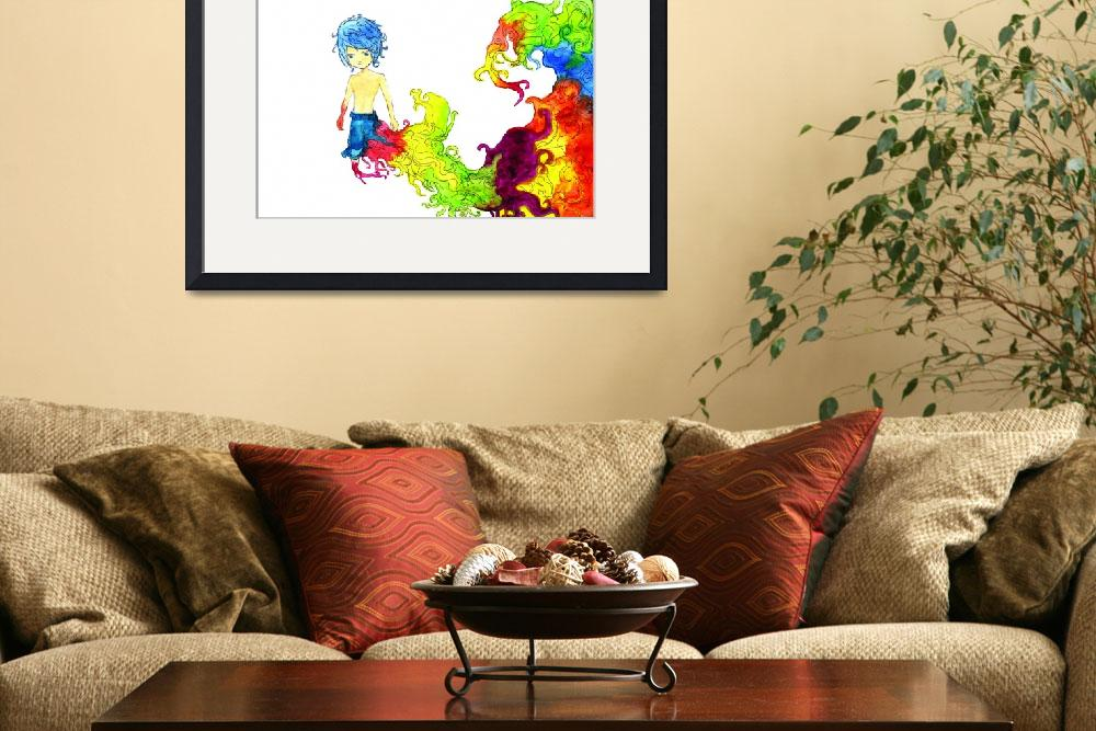 """""""Rainbow Boy&quot  (2011) by francisfung"""