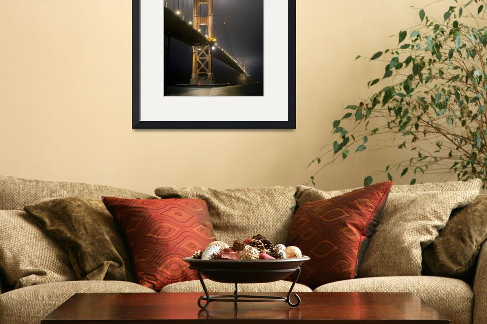 """Golden Gate Bridge at Night&quot  (2010) by miir"
