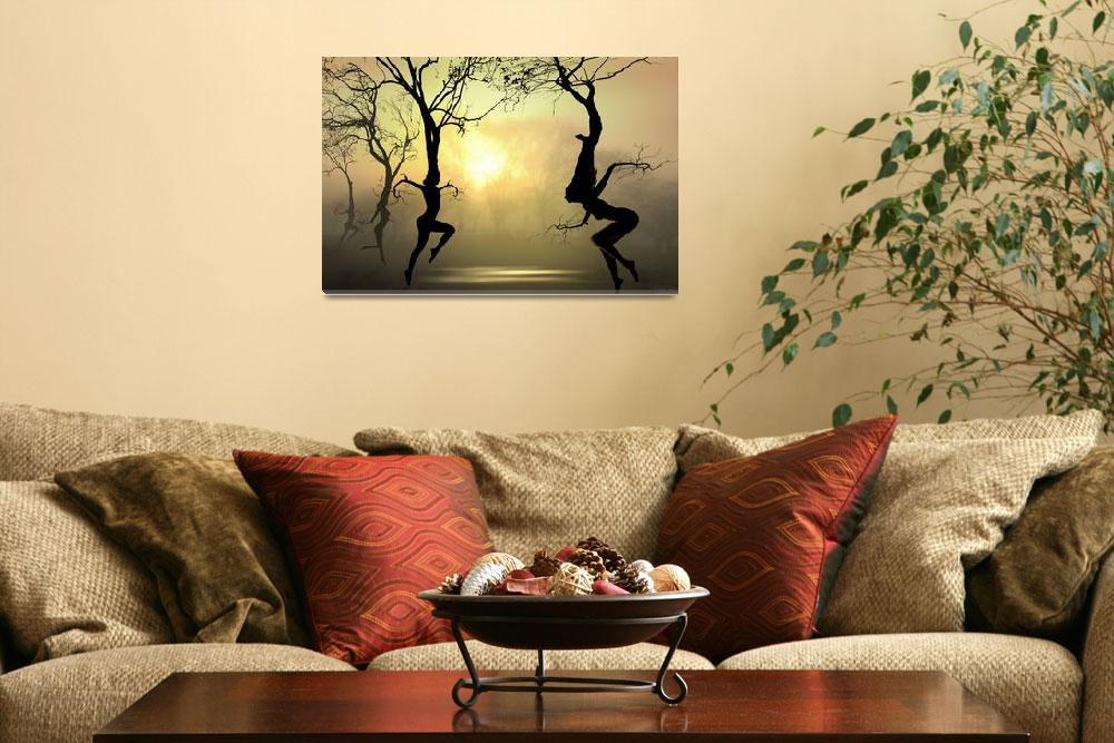 """Dancing Trees""  (2009) by zenin"