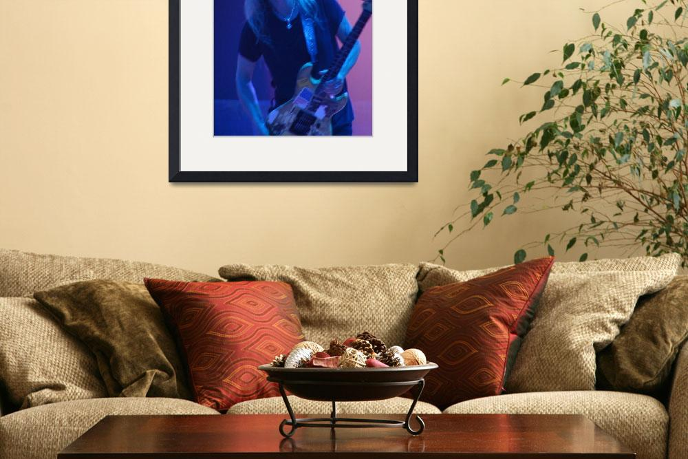 """Alice in Chains - Jerry Cantrell Pink & Blue 3&quot  (2010) by robvena"