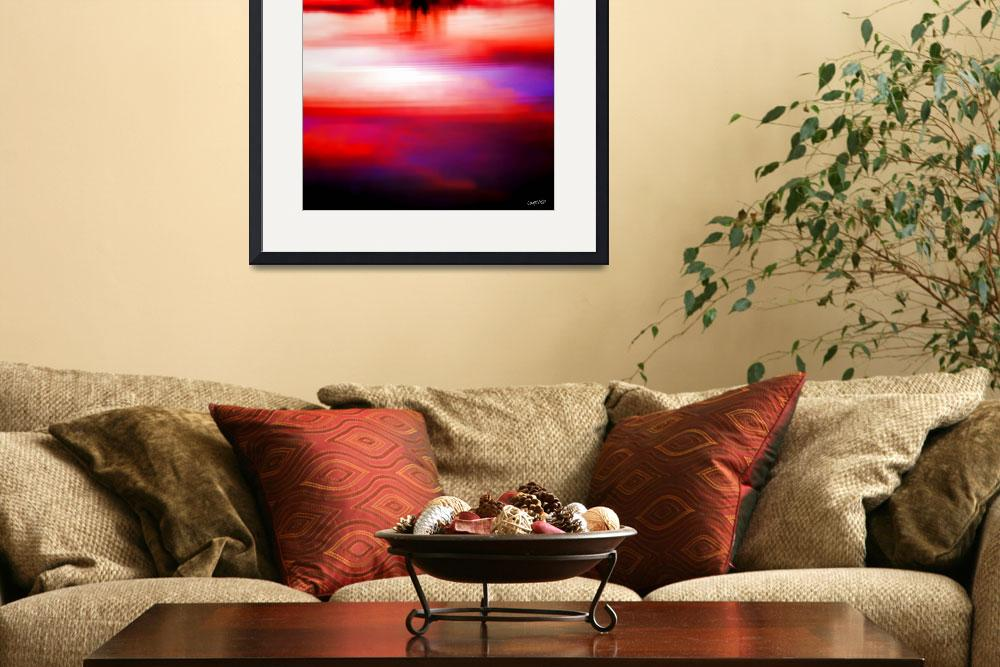 """""""Sunrise Reflection&quot  (2011) by carylalys"""