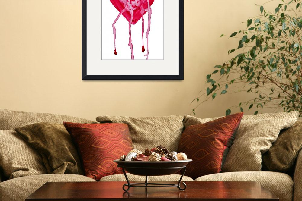 """bleeding heart&quot  (2010) by lamich"