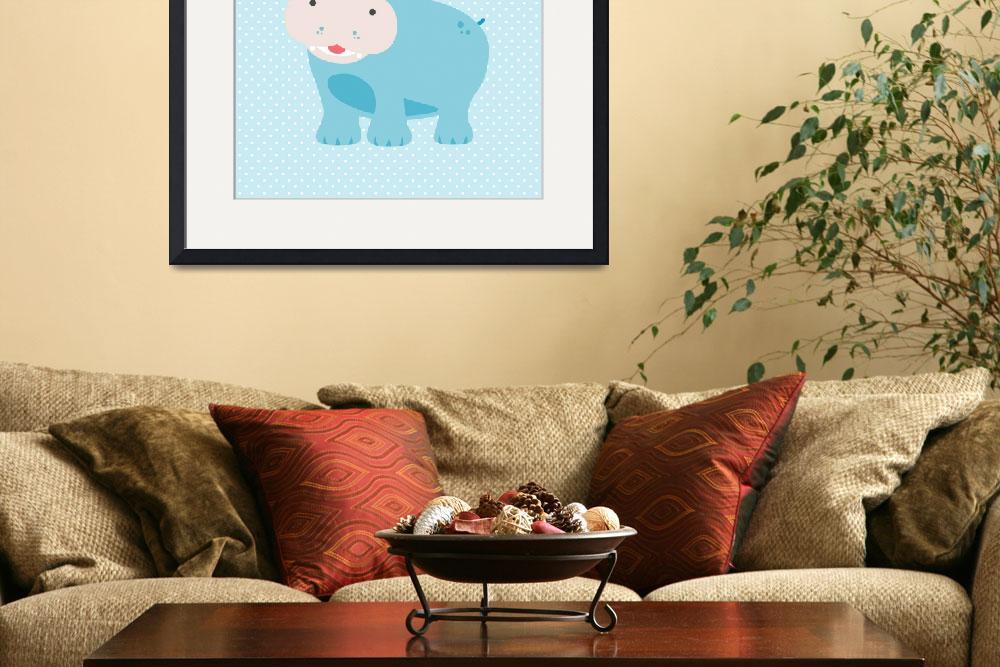 """""""hippo&quot  by littlebubbies"""
