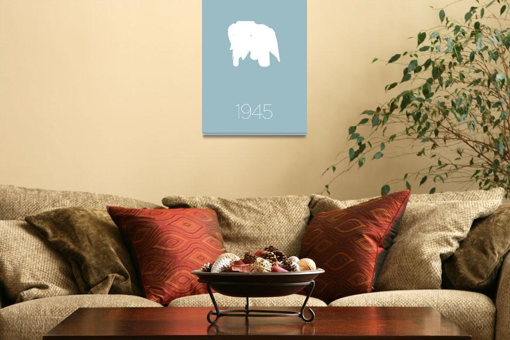 """Modern Furniture Classic 1945 Elephant Chair&quot  (2011) by kken"