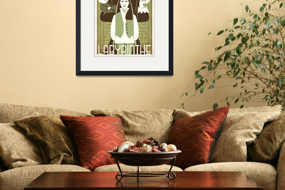 """""""LABYRINTH green french&quot  (2010) by TravisPitts"""