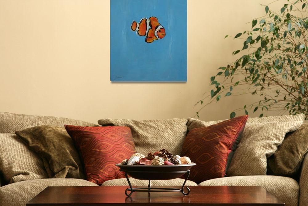"""""""Clownfish&quot  by creese"""