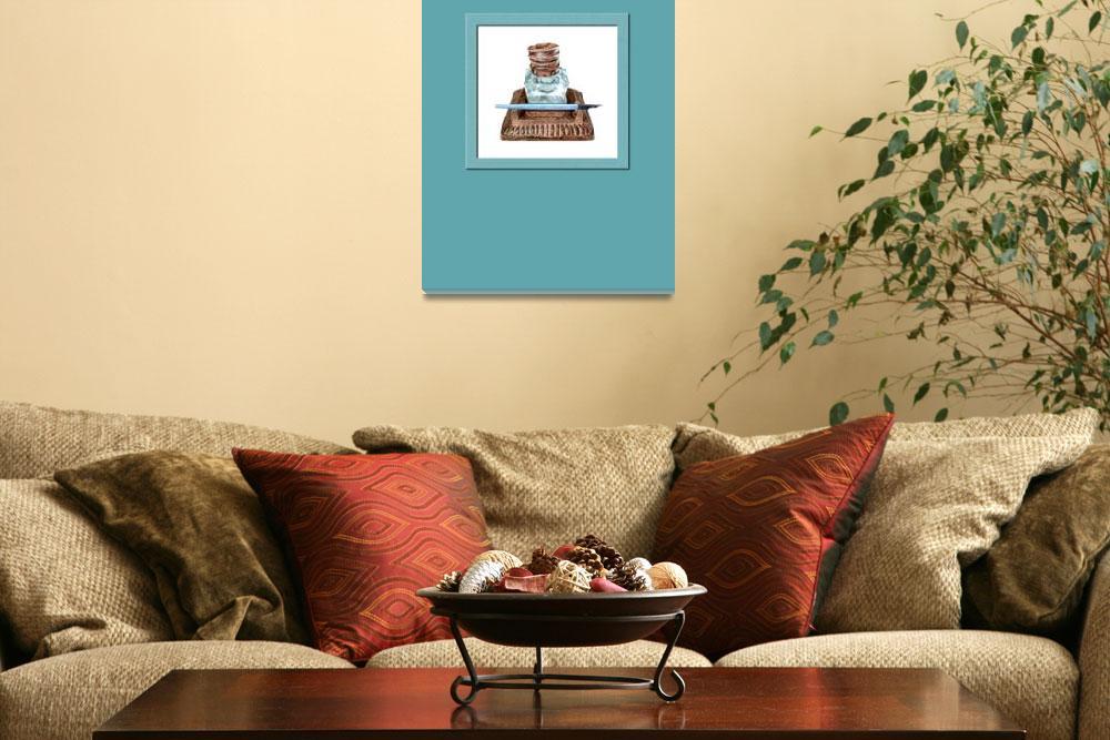 """""""Inkwell framed""""  (2010) by floatinglemons"""