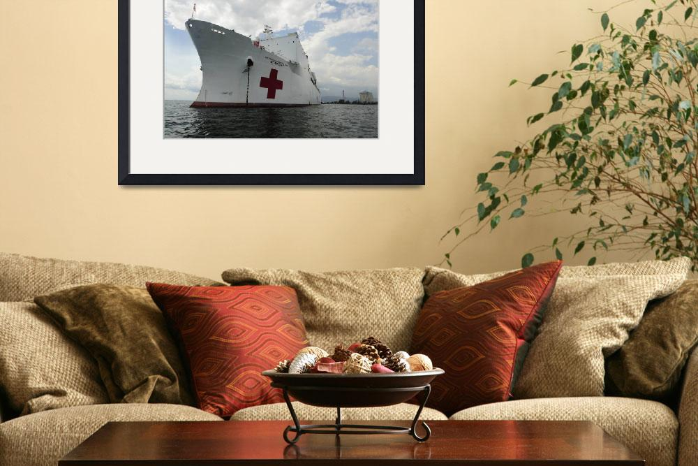 """Military Sealift Command hospital ship USNS Comfor&quot  by stocktrekimages"