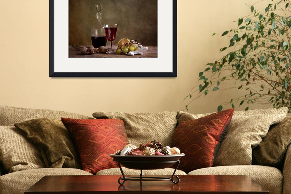 """""""Wine and Fruits""""  (2010) by nailiaschwarz"""