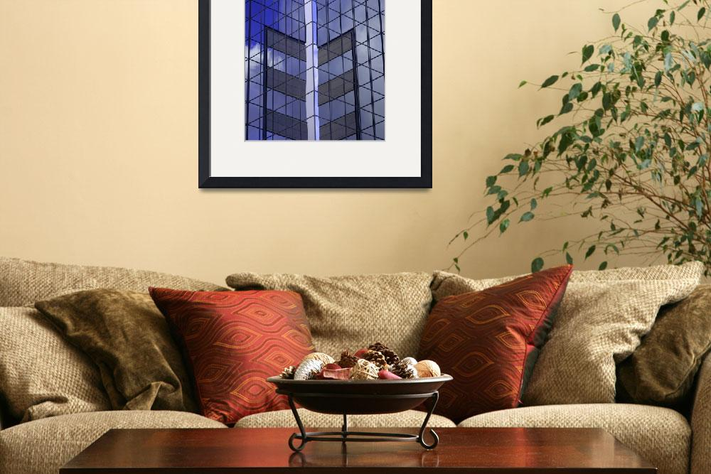 """""""Deep Blue Lining&quot  (2010) by TheUrbanMethod"""