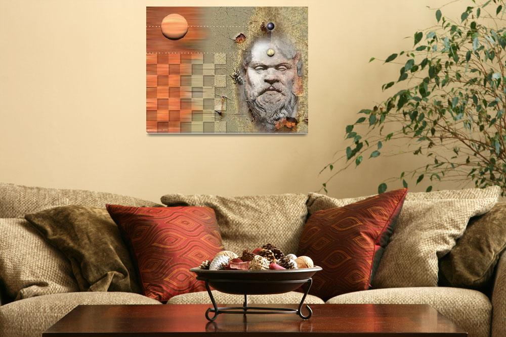 """""""socrates""""  (2010) by Arteology"""