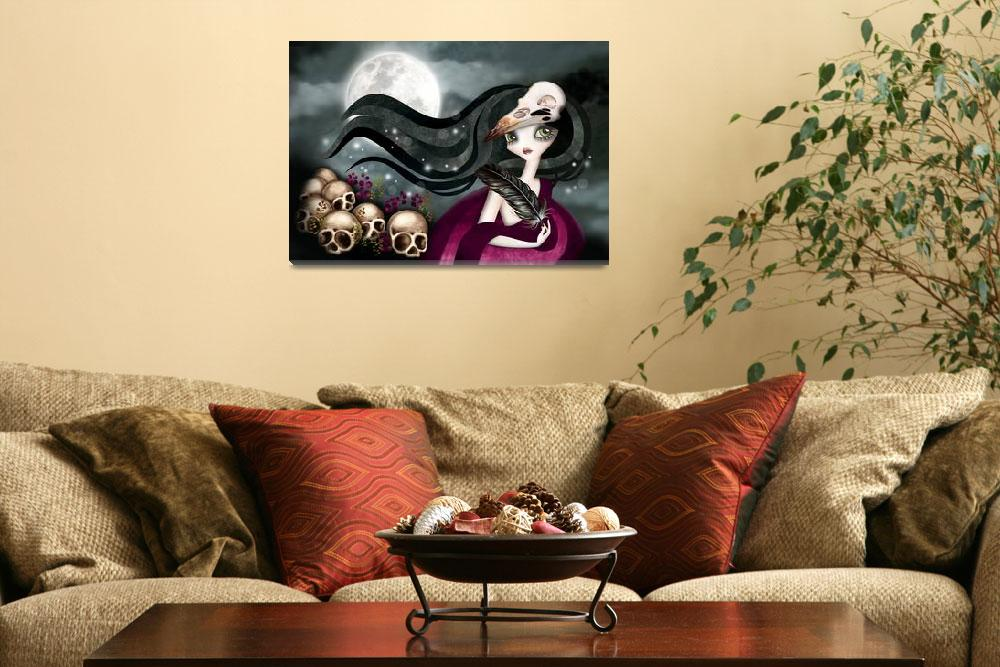 """""""The Witching Hour""""  (2013) by sandygrafik_arts"""