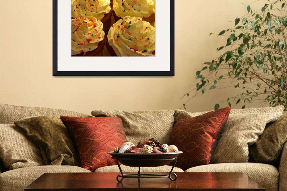 """""""Cupcakes&quot  (2009) by AmyVangsgard"""