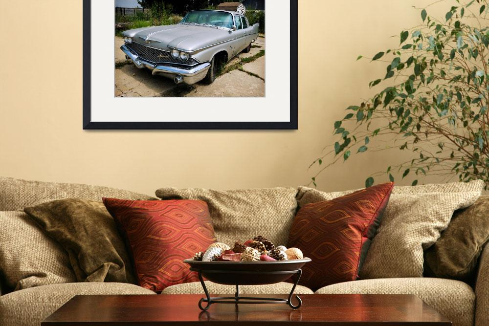 """""""1960 Chrysler Imperial&quot  (2011) by AaronRoeth"""