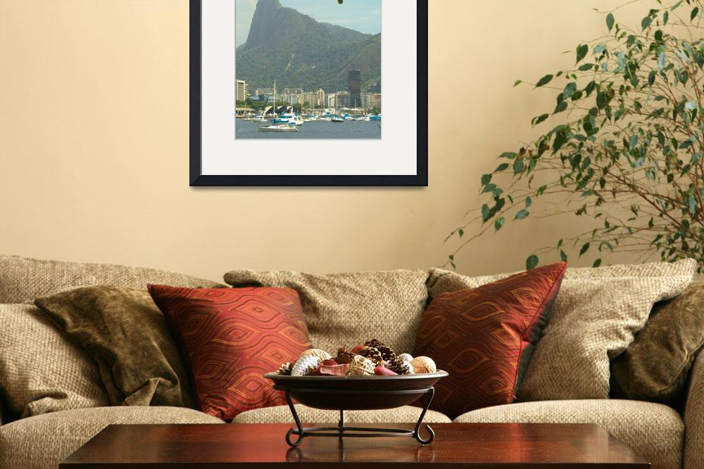 """""""Hill of the Corcovado Redeeming Jesus Crist""""  (2011) by einsiedler"""