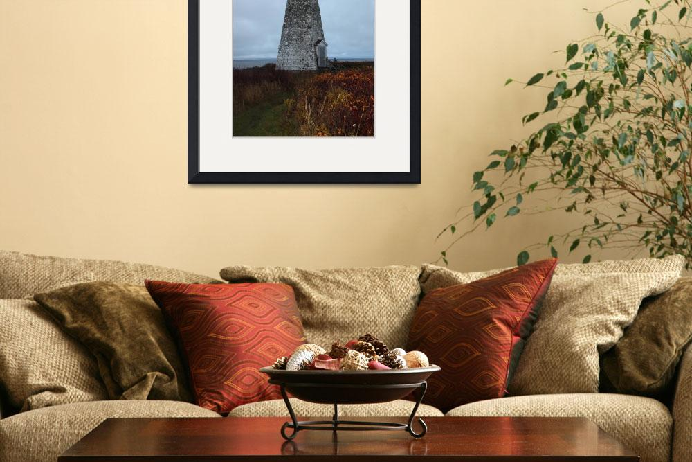 """""""Cape Joumain Lighthouse&quot  (2009) by dunklebob"""