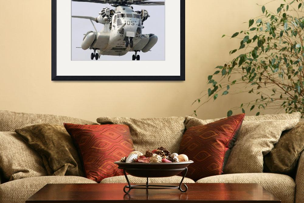 """A US Marine Corps CH53E Super Stallion&quot  by stocktrekimages"