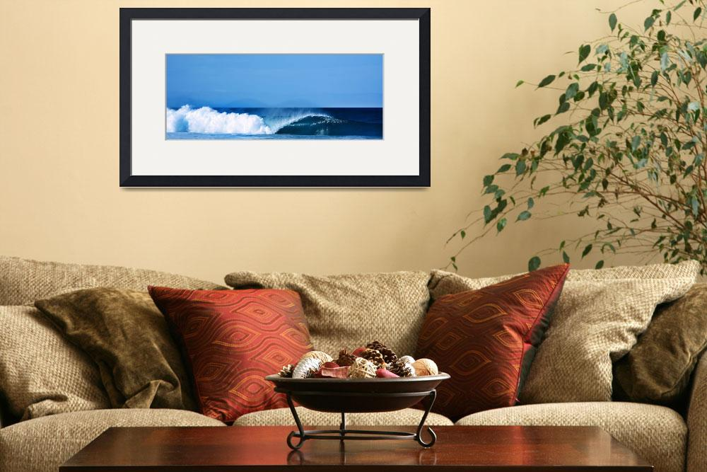 """Banzai Pipeline""  (2013) by SANGRIA"