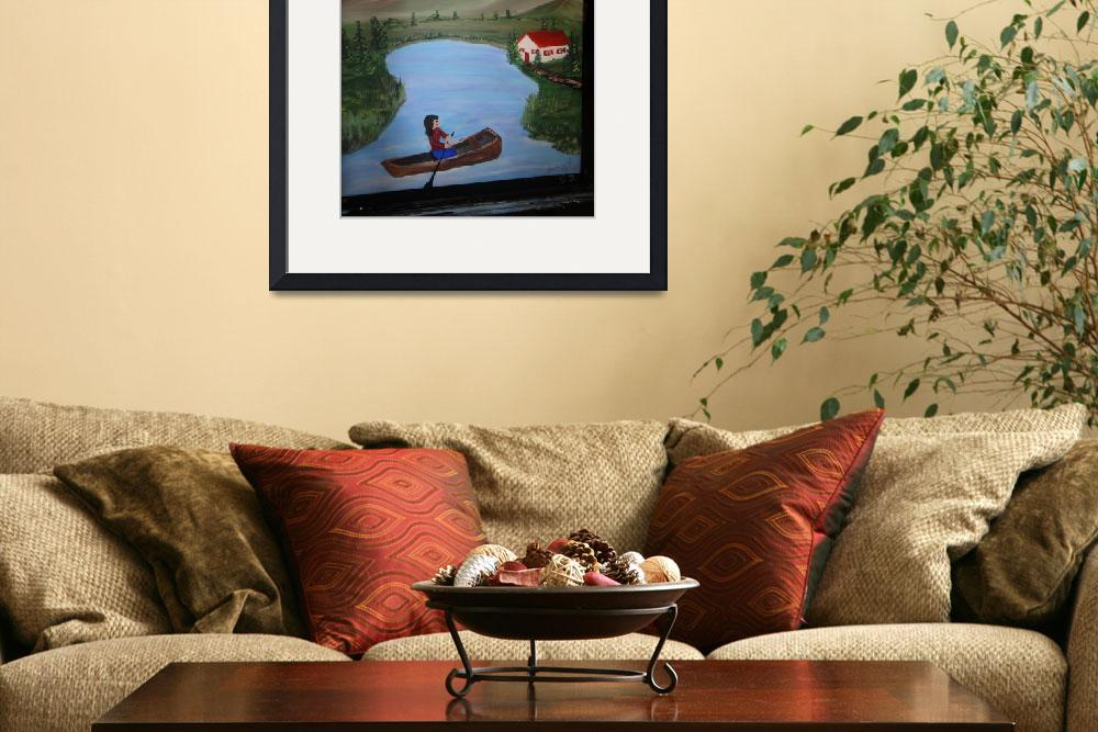 """""""boat by cottage&quot  (2011) by goldielocks"""