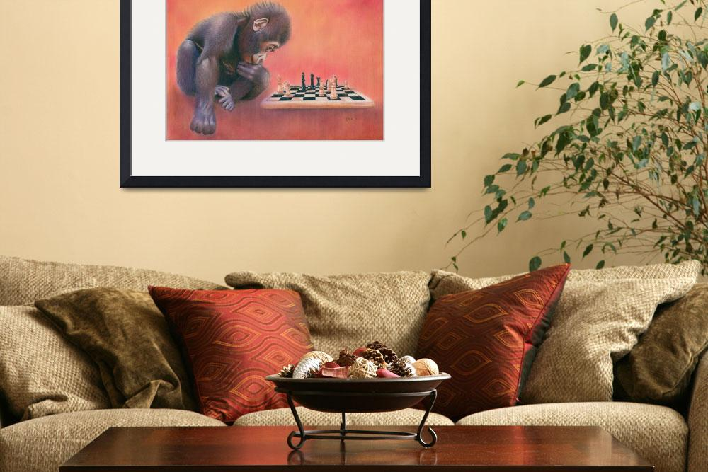 """""""CheckMate&quot  (2011) by KarenHull"""