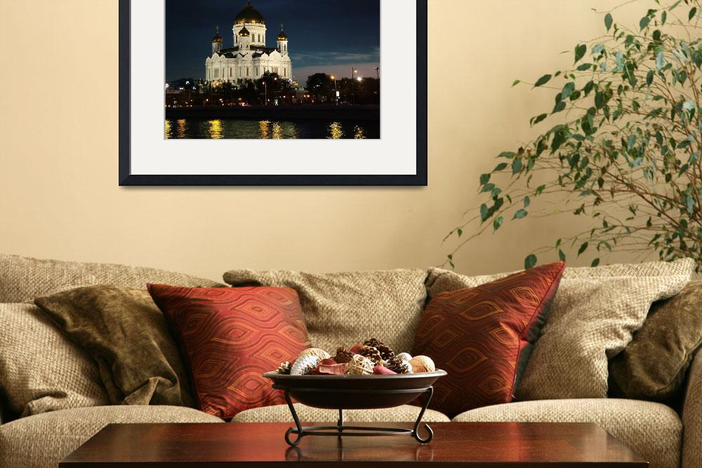 """""""Cathedral of Christ the Savior&quot  (2007) by DonnaCorless"""