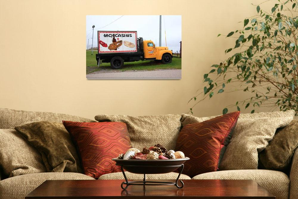 """""""Route 66 - Oklahoma Trading Post Truck""""  (2008) by Ffooter"""