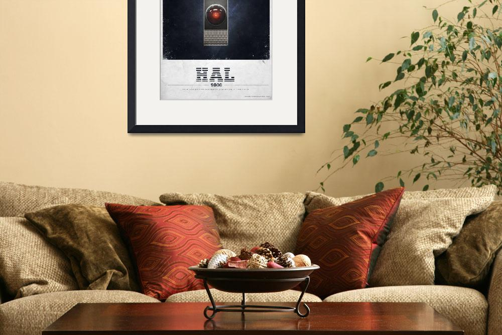 """""""HAL 9000&quot  (2011) by JustinVG"""