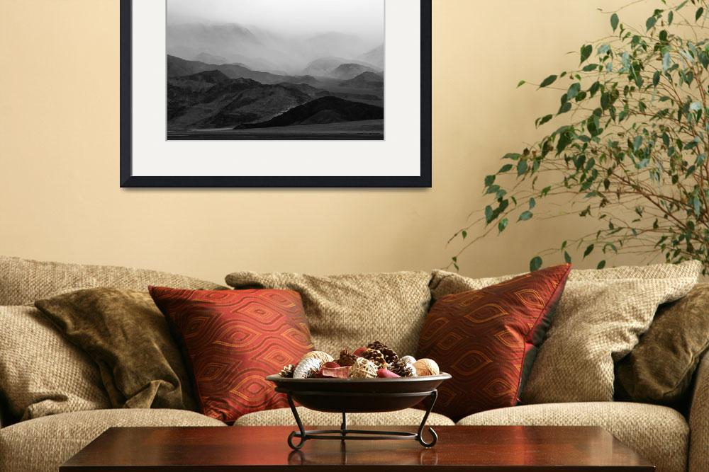 """""""Death Valley Mountain Storm&quot  (2008) by miir"""