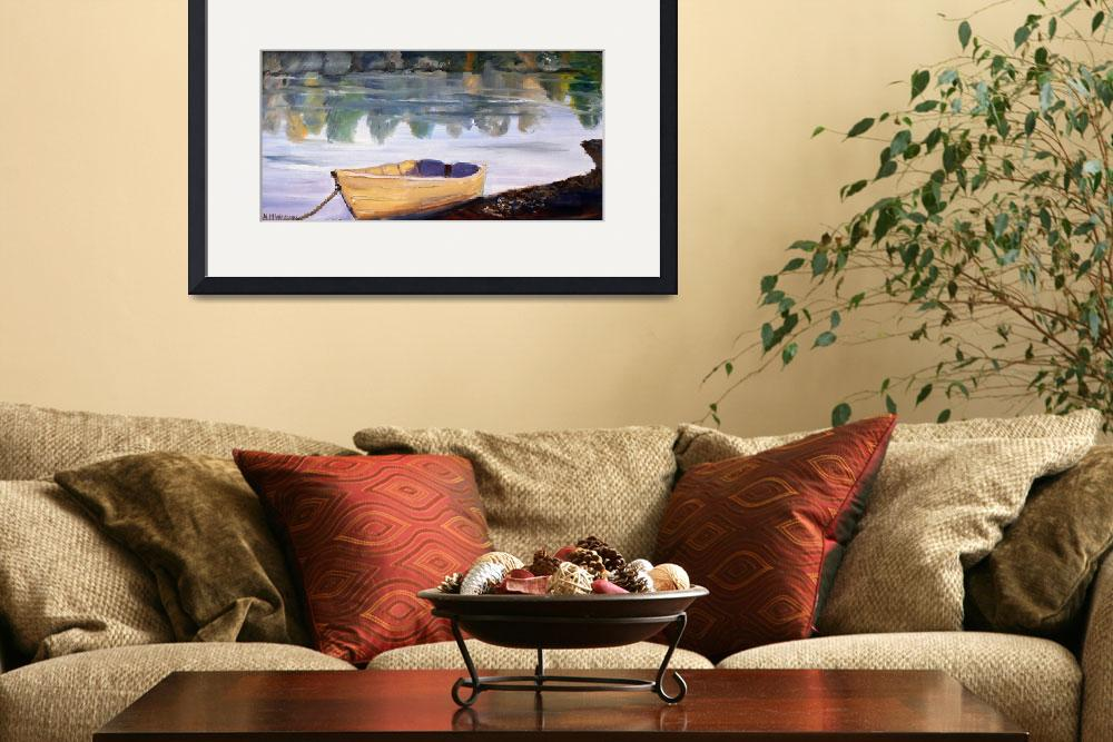 """""""Beached Boat""""  (2014) by AMVaughn"""