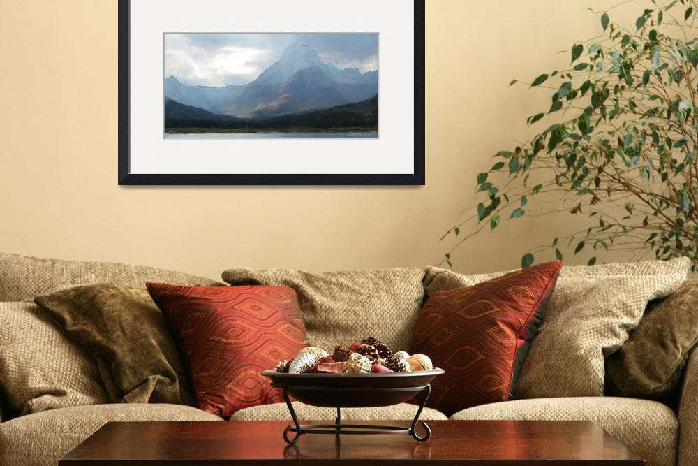 """""""Swiftcurrent Lake&quot  (2011) by JimPavelle"""