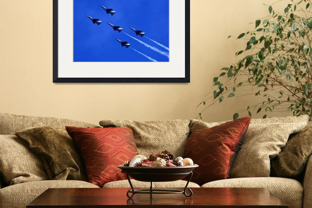 """""""Thunderbirds 5 With Contrails&quot  by DonnaCorless"""