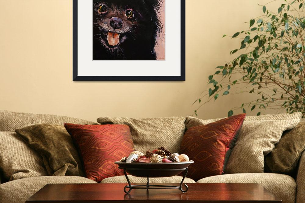 """Black Pomeranian&quot  by creese"