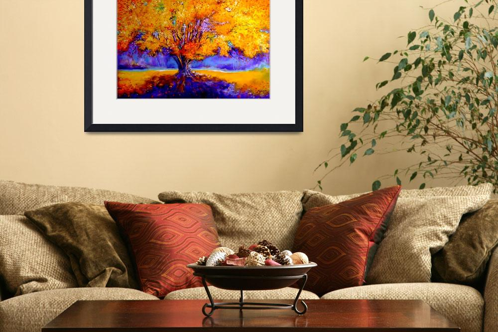 """""""OLD TREE""""  (2007) by MBaldwinFineArt2006"""