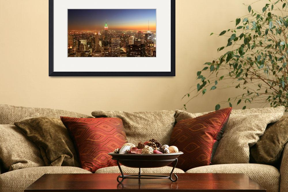 """""""New York City&quot  by chan"""