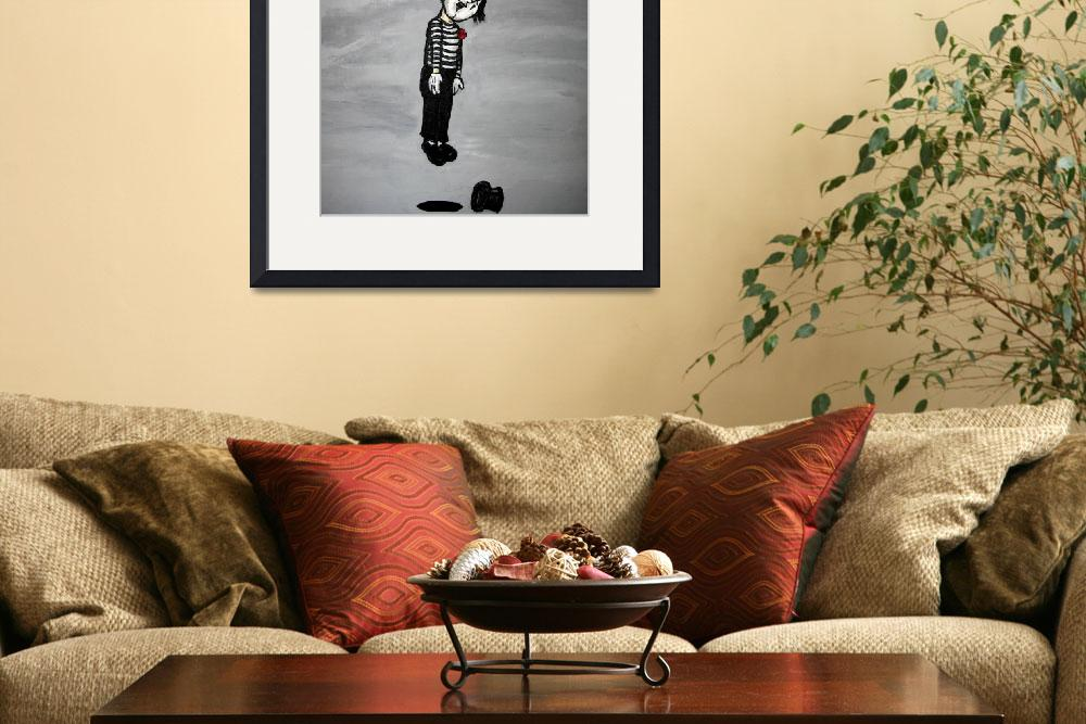 """""""Death Of A Mime&quot  (2006) by milliondollartodd"""