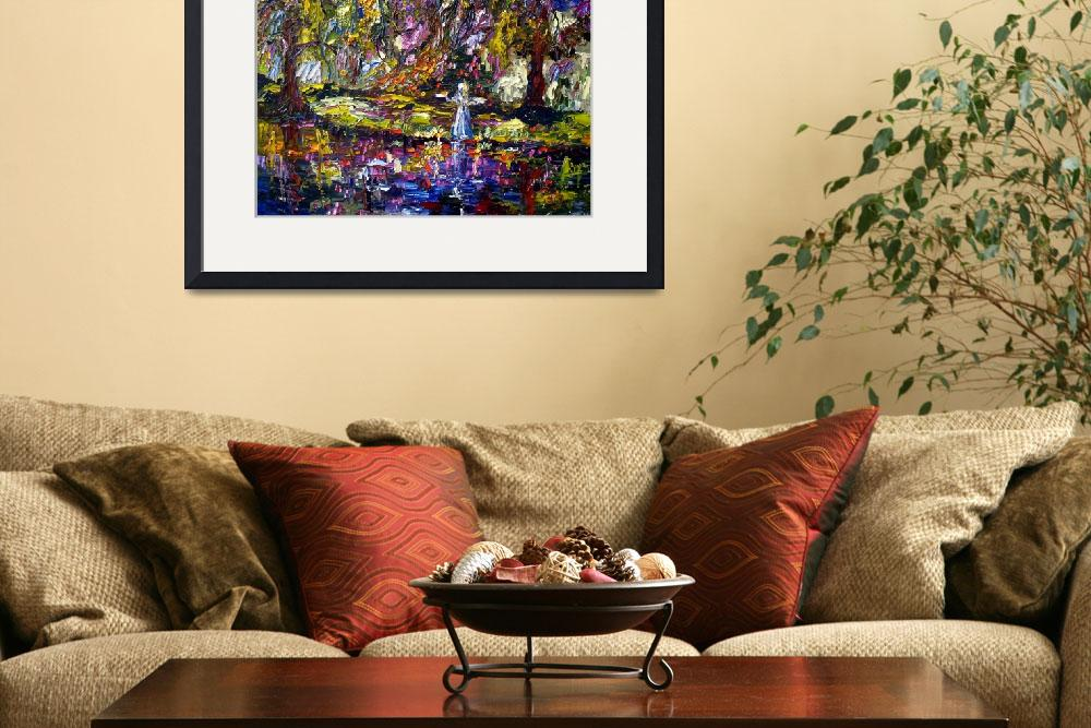"""""""Savannah Georgia Impressionist Oil Painting&quot  (2009) by GinetteCallaway"""