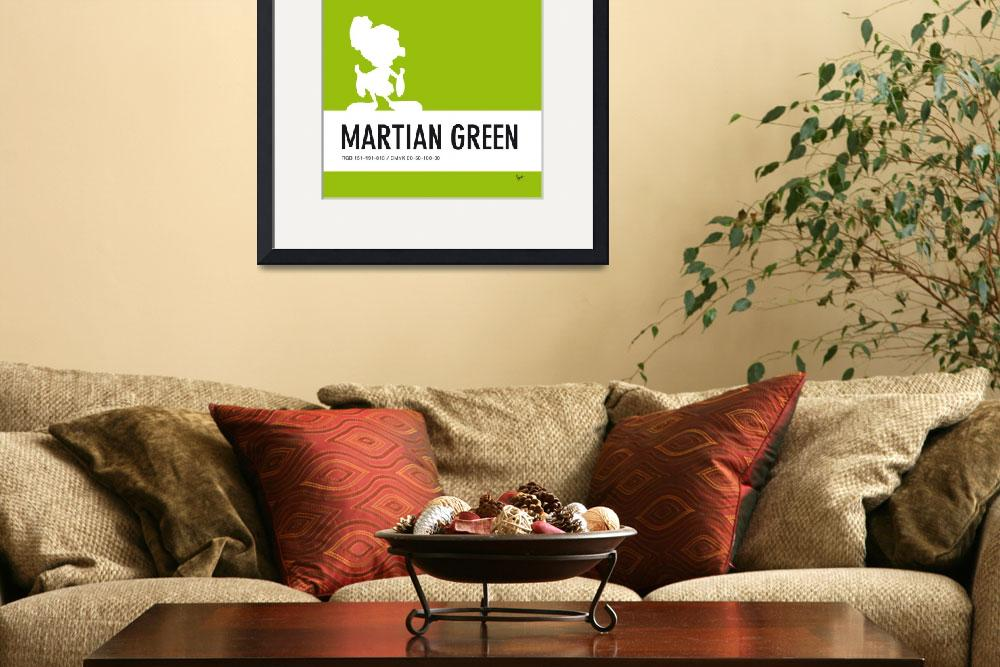 """""""No15 My Minimal Color Code poster Marvin&quot  by Chungkong"""